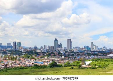 Philippines, Cebu City, 06 July 2017 - Cebu City View