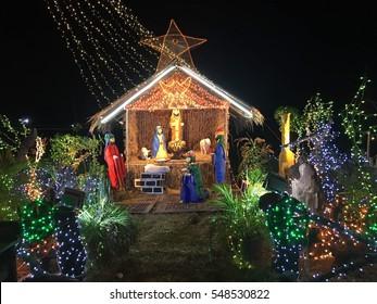 Philippines Filipino Nativity Ideas and Decorations