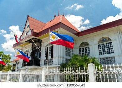Philippines Hero Emilio Aguinaldo Shrine in Kawit, Cavite, Philippines