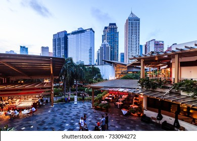 Philippines, Manila, Makati, 12 August 2017 - The Greenbelt Shopping Mall In Makati, Philippines