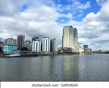 Philippines, Manila, View of City from River