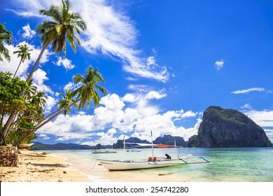 Philippines, scenic El-nido (Palawan)