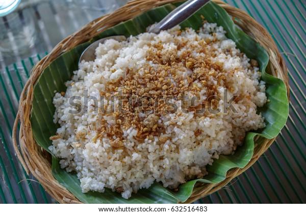 Philippines style garlic rice