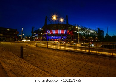The Philips Stadion is a football stadium in Eindhoven, Netherlands, and it is the home of PSV, also known as PSV Eindhoven. With a capacity of 35,000. Eindhoven - Netherlands 27 sept 2016