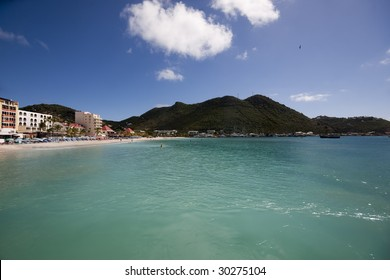 Philipsburg the capital of the Dutch side of St Maarten