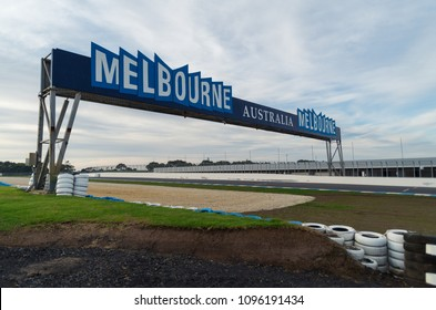 Phillip Island, Australia - May 24, 2015: Phillip Island Ciruit is a car and motorcycle race circuit is a car and motorcyle racing circuit.
