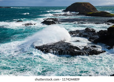 Phillips Island blowhole - Australia