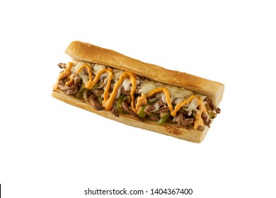 Philly Cheese steak with burger sauce