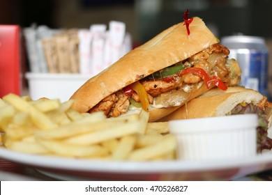 Philly Chicken Sandwich