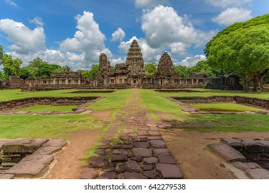Phimai national park in Nakhon ratchasima Korat Thailand. Old khmer temples. Visit the beautiful places in the world, experience and learn what travel teaches.