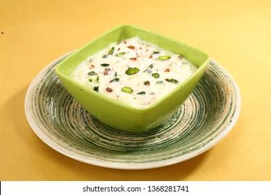 Phirni or Ferni or Rice Pudding or Rice Kheer or vermicelli - Punjabi Dessert