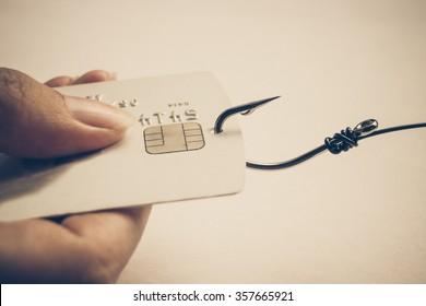 Phishing attack on credit card data