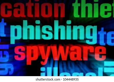 Phishing spyware