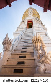 Phitsanulok, THAILAND - April 09, 2018: Pagoda at Wat Phra Sri Rattana Mahathat Temple, Name is Phra Buddha Chinnarat, Phitsanulok in Thailand.