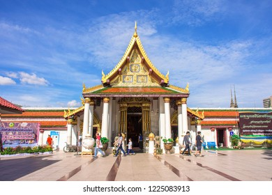 Phitsanulok, THAILAND - April 09, 2018: Wat Phra Sri Rattana Mahathat Temple, Name is Phra Buddha Chinnarat, Phitsanulok in Thailand.