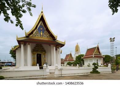 Phitsanulok, Thailand - August 23, 2011: Wat Phra Sri Rattana Mahathat Temple in Phitsanulok, Thailand.