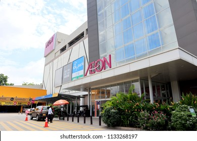 PHNOM PENH, CAMBODIA. 2018 JUN 21st. Aeon Mall Phnom Penh, is a Largest shopping mall in Cambodia.
