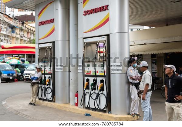 Phnom Penh Cambodia August 24 2017 Stock Photo (Edit Now