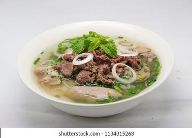 Pho Hanoi vietnamese noodles