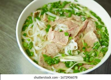 Pho noodle, Vietnamese rice noodle