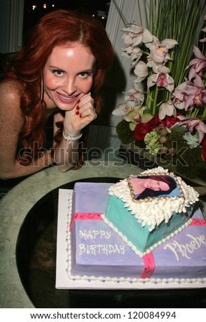Phoebe Price At Her Birthday Party Private Location Los Angeles CA 10
