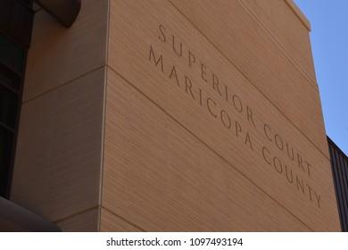 Phoenix Arizona 5/20/18 Maricopa County Superior Court building
