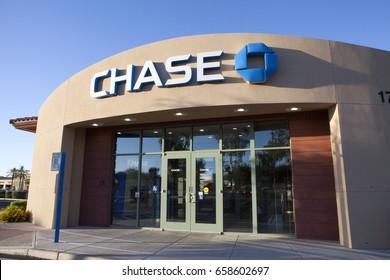 PHOENIX, ARIZONA, JUNE 11, 2017: CHASE BANK