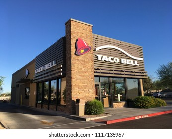 Phoenix, Arizona - June 19, 2018: Taco Bell Restaurant