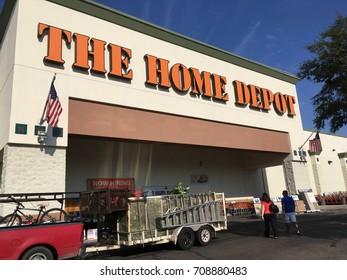 PHOENIX, ARIZONA, SEPT 4, 2017: The Home Depot