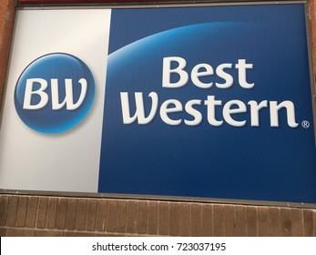 PHOENIX, ARIZONA, SEPT 9, 2017: Best Western Hotel Chain