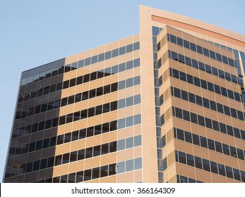 Phoenix, Arizona / USA - January 20, 2016: offices building of One North Central Avenue in downtown Phoenix, Arizona.