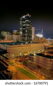 Phoenix, AZ at night