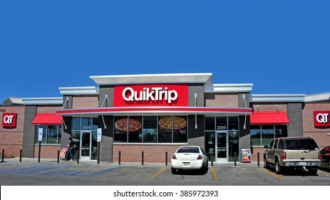 PHOENIX, AZ, USA - FEB 27, 2016:  QuickTrip is a gas station and convenience store based out of Tulsa with around 700 locations primarily in the Midwestern and Southern US.