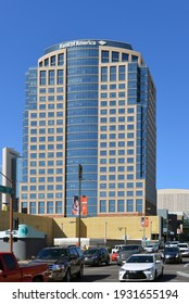 Phoenix, AZ, USA - February 21, 2016:  Bank of America Tower in downtown Phoenix. BoA is the second largest banking institution in the United States.