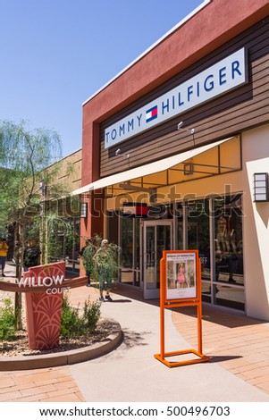 fef2c7fc Phoenix, AZ, USA - May 18, 2013: Tommy Hilfiger store located in Phoenix  Premium Outlets. - Image