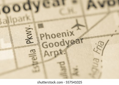 Phoenix Goodyear Airport. Arizona. USA