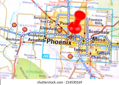 Phoenix and Map