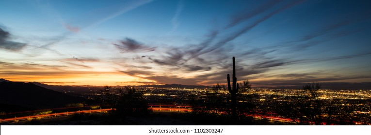 Phoenix at night
