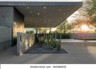 PHOENIX, USA - JUNE 26, 2016: The Phoenix Art Museum is the Southwest United States' largest art museum for visual art. Located in Phoenix, Arizona, the museum is 285,000-square-foot.