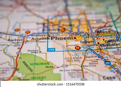 United States Map Cities Stock Photos, Images & Photography ...