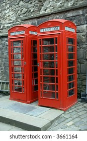 Phone booths in England