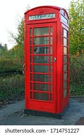 Phone Box In Garrison Town Co. Fermanagh