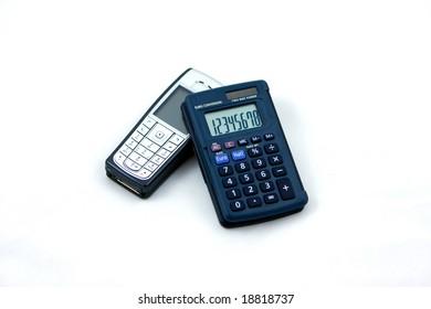 Phone and calculator