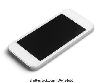 Phone isolated on white background.