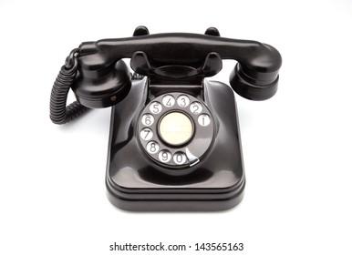 phone retro made of bakelite