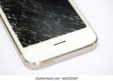 Phone screen broken