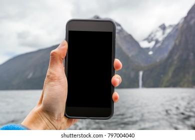 Phone Travel Mock-up