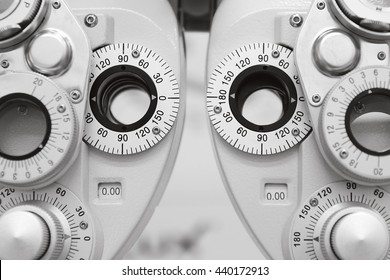 Phoropter, ophthalmic testing device machine, Cool tone