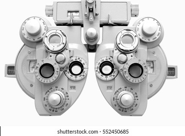 Phoropter, ophthalmic testing device machine,optometrist tool.