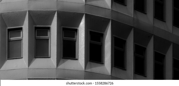 photo of abstract beautiful building